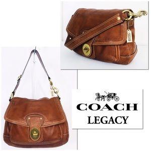 Coach Ali Legacy Vachetta Distressed Hobo Bag
